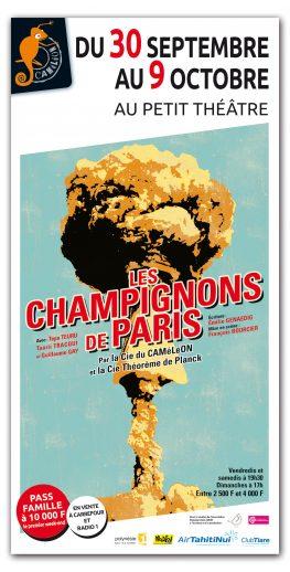 Affiche Les Champignons de Paris à Papeete